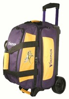 KR Strikeforce NFL 2 Ball Roller Minnesota Vikings Bowling Bags