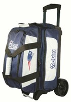 KR NFL 2 Ball Roller New England Patriots Bowling Bags