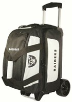 KR NFL 2 Ball Roller Oakland Raiders Bowling Bags