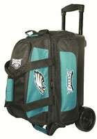 KR NFL 2 Ball Roller Philadelphia Eagles Bowling Bags
