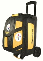 KR NFL 2 Ball Roller Pittsburgh Steelers Bowling Bags