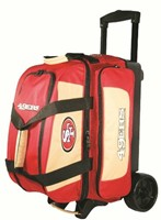 KR Strikeforce NFL 2 Ball Roller San Francisco 49ers Bowling Bags