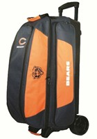 KR NFL Triple Roller Chicago Bears Bowling Bags
