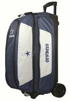 KR NFL Triple Roller Dallas Cowboys Bowling Bags