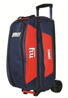 KR NFL Triple Roller New York Giants Bowling Bags