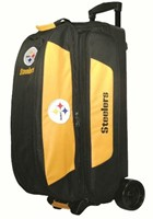 KR NFL Triple Roller Pittsburgh Steelers Bowling Bags