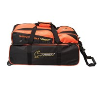 Hammer Triple Tote w/Removable Pouch Bowling Bags