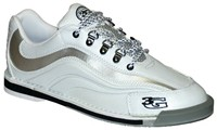 3G Mens Sport Ultra White/Grey Left Hand Bowling Shoes