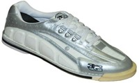 3G Mens Tour Ultra White/Silver Right Hand Bowling Shoes