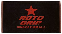 Roto Grip Woven Towel Black/Red