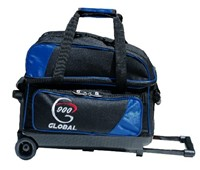 900Global Value 2 Ball Roller Blue/Black Bowling Bags