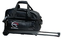 900Global Value 2 Ball Roller Black Bowling Bags