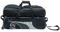 900Global 3 Ball Airline Tote w/Removable Pouch Bowling Bags