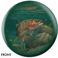 OnTheBallBowling Nature Rainbow Trout Bowling Balls