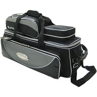 Elite Platinum Deluxe Triple Tote/Roller Bowling Bags