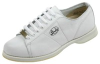 Linds Womens Classic White Right Hand Wide Width Bowling Shoes