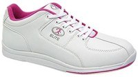 Elite Womens Ariel White/Pink - ALMOST NEW Bowling Shoes