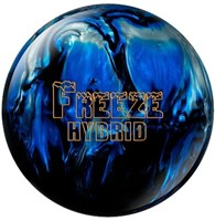 Columbia Freeze Hybrid Black/Blue/Silver Bowling Balls