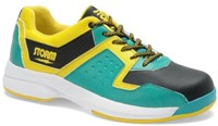 Storm Mens Lightning Teal/Black/Yellow Left Hand Bowling Shoes