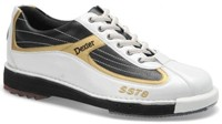 Dexter Mens SST 8 White/Black/Gold RH or LH Bowling Shoes