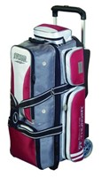 Storm Rolling Thunder 3 Ball Roller Gry/Red/White Bowling Bags