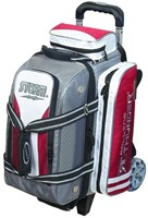 Storm Rolling Thunder 2 Ball Roller Grey/Red/White Bowling Bags