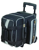 Storm Streamline 1 Ball Roller Black/Silver Bowling Bags