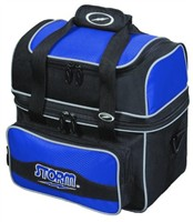 Storm 1 Ball Flip Tote Blue/Silver Bowling Bags
