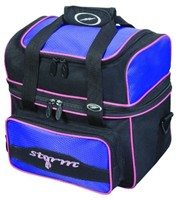 Storm 1 Ball Flip Tote Black/Purple Bowling Bags