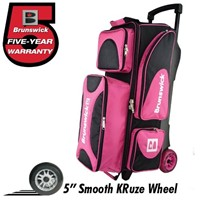 Brunswick Flash X Triple Roller Pink