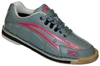 3G Womens Tour Ultra Grey/Pink Right Hand Bowling Shoes