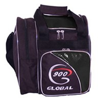 900Global Fresh 1 Ball Tote Black Bowling Bags