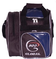 900Global Fresh 1 Ball Tote Blue Bowling Bags
