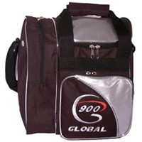 900Global Fresh 1 Ball Tote Silver Bowling Bags