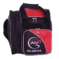 900Global Fresh 1 Ball Tote Red Bowling Bags