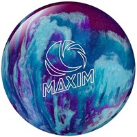 Ebonite Maxim Purple/Royal/Silver Bowling Balls