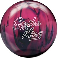 Brunswick Strike King Purple/Pink Pearl Bowling Balls