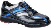 Dexter Mens SST 8 SE Blk/Bl/Sil Right or Left Hand Bowling Shoes