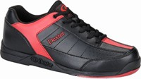 Dexter Mens Ricky III Black/Red Bowling Shoes