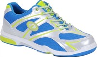 Dexter Mens Max Silver/Blue/lime Bowling Shoes