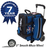 KR Royal Flush Double Roller Bowling Bags