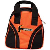 Hammer Plus One Orange/Black Single Tote Bowling Bags