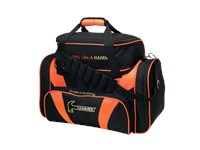 Hammer Deluxe Double Tote Black/Orange Bowling Bags
