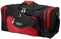 Ebonite Conquest 2 Ball Tote Black/Red Bowling Bags