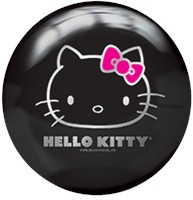 Brunswick Hello Kitty Black Viz-A-Ball Bowling Balls