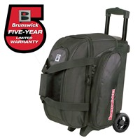 Brunswick Gear Two Ball Roller Black Bowling Bags