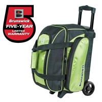 Brunswick Gear Two Ball Roller Lime Bowling Bags
