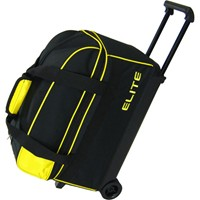 Elite Basic Double Roller Yellow Bowling Bags