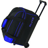 Elite Basic Double Roller Blue Bowling Bags