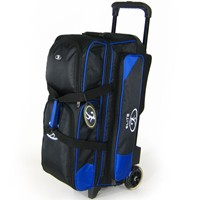 Elite Dimension Triple Roller Blue Bowling Bags